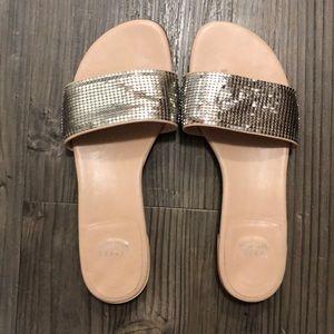 Stuart Weitzman size 8 mirrorball sandals